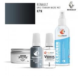 Stylo Retouche Renault KPN GRIS TITANIUM NACRE MET