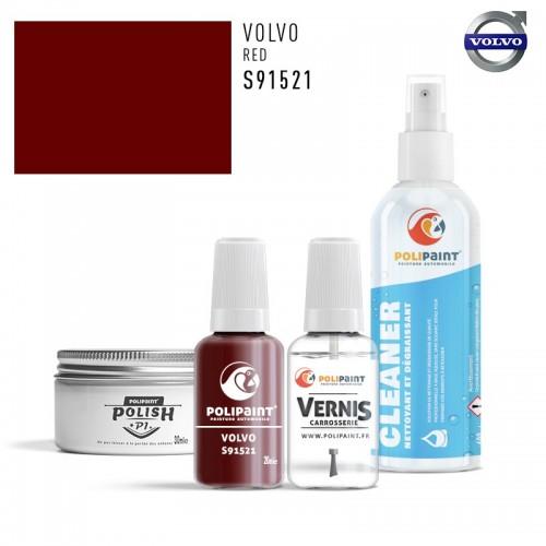 Stylo Retouche Volvo S91521 RED