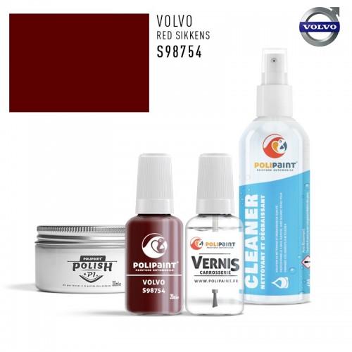 Stylo Retouche Volvo S98754 RED SIKKENS