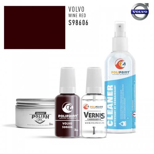 Stylo Retouche Volvo S98606 WINE RED