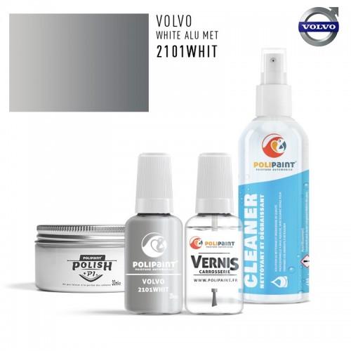 Stylo Retouche Volvo 2101WHIT WHITE ALU MET