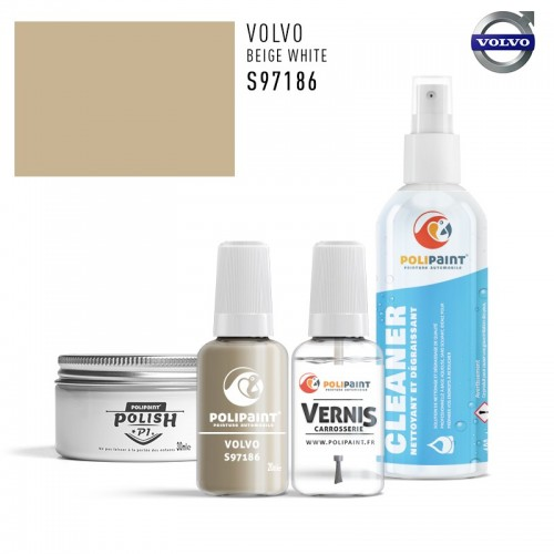 Stylo Retouche Volvo S97186 BEIGE WHITE