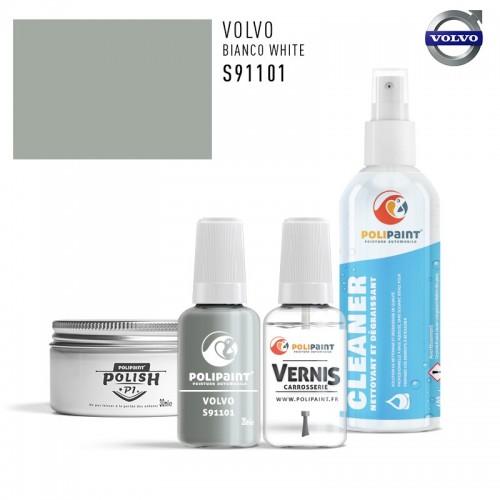 Stylo Retouche Volvo S91101 BIANCO WHITE