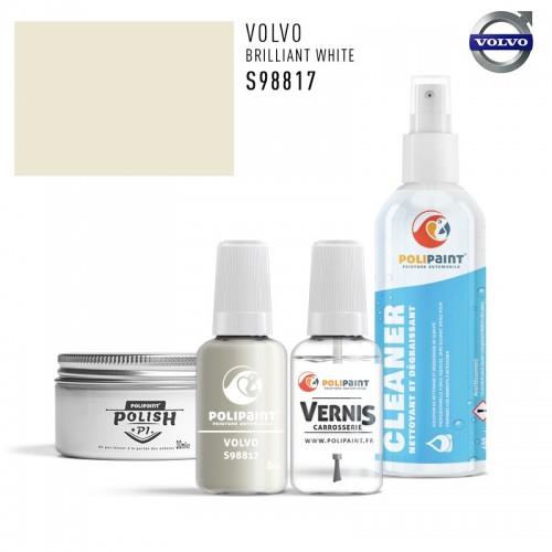 Stylo Retouche Volvo S98817 BRILLIANT WHITE