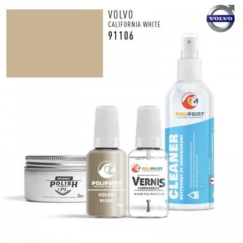 Stylo Retouche Volvo 91106 CALIFORNIA WHITE