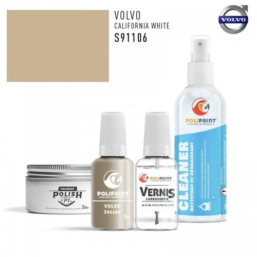 Stylo Retouche Volvo S91106 CALIFORNIA WHITE