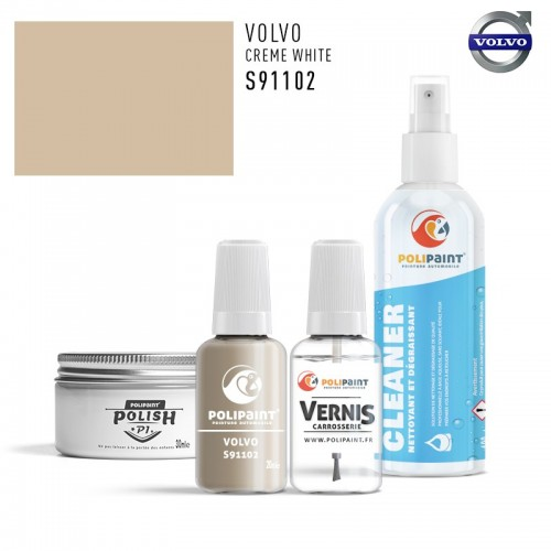 Stylo Retouche Volvo S91102 CREME WHITE