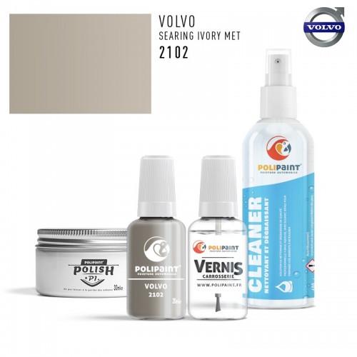 Stylo Retouche Volvo 2102 SEARING IVORY MET