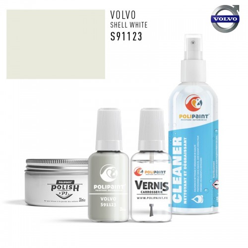 Stylo Retouche Volvo S91123 SHELL WHITE