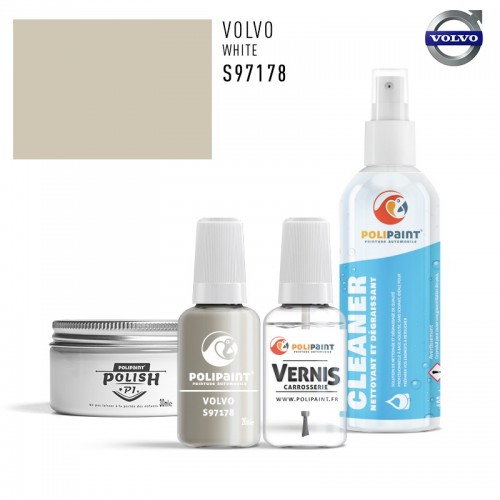 Stylo Retouche Volvo S97178 WHITE