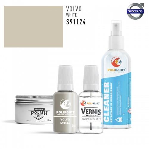 Stylo Retouche Volvo S91124 WHITE