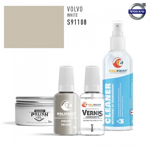 Stylo Retouche Volvo S91108 WHITE