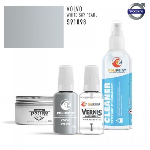 Stylo Retouche Volvo S91098 WHITE SKY PEARL