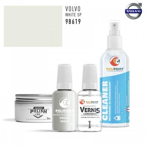 Stylo Retouche Volvo 98619 WHITE SP