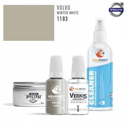 Stylo Retouche Volvo 1103 WINTER WHITE