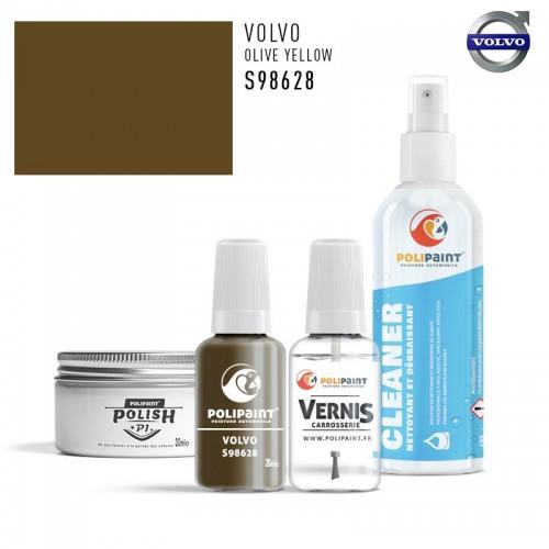 Stylo Retouche Volvo S98628 OLIVE YELLOW