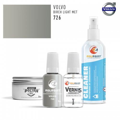 Stylo Retouche Volvo 726 BIRCH LIGHT MET