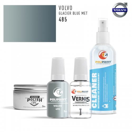 Stylo Retouche Volvo 485 GLACIER BLUE MET