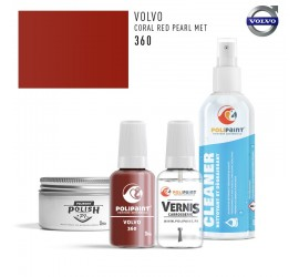 360 CORAL RED PEARL MET Volvo