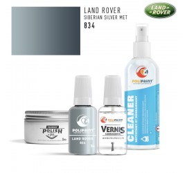 834 SIBERIAN SILVER MET Land Rover