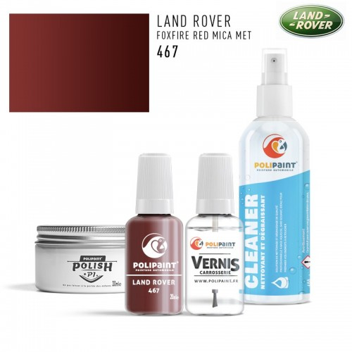 Stylo Retouche Land Rover 467 FOXFIRE RED MICA MET