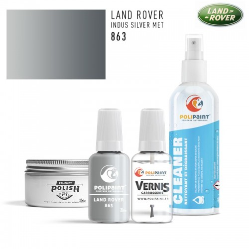 Stylo Retouche Land Rover 863 INDUS SILVER MET