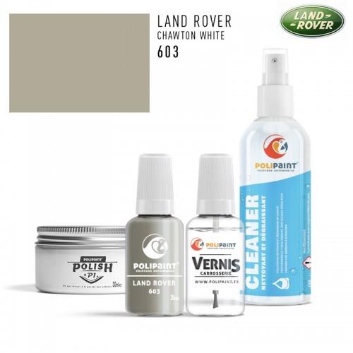 Stylo Retouche Land Rover 603 CHAWTON WHITE
