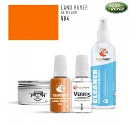 584 AA YELLOW Land Rover