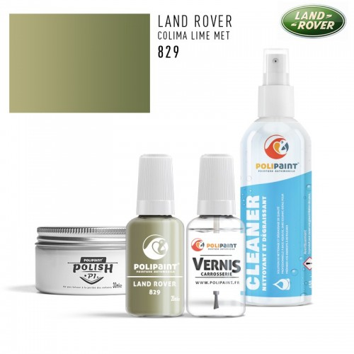 Stylo Retouche Land Rover 829 COLIMA LIME MET
