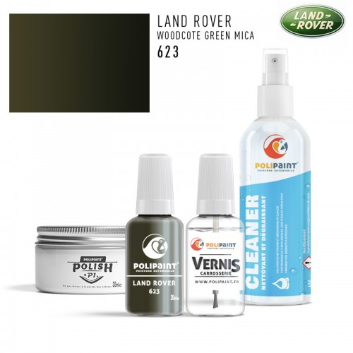 Stylo Retouche Land Rover 623 WOODCOTE GREEN MICA
