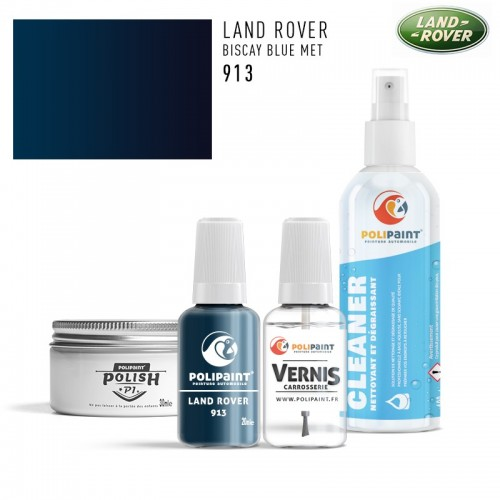 Stylo Retouche Land Rover 913 BISCAY BLUE MET