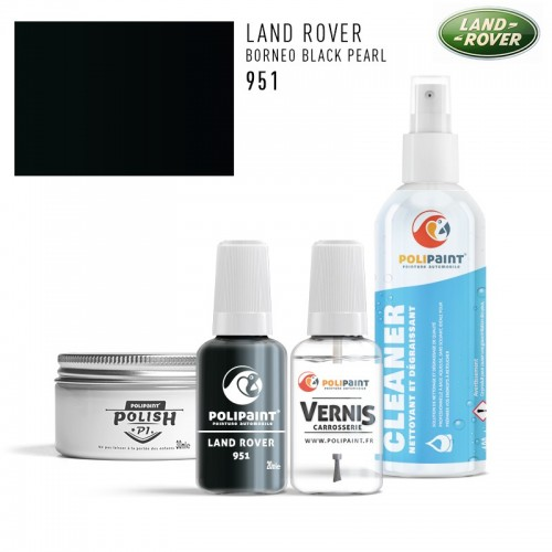 Stylo Retouche Land Rover 951 BORNEO BLACK PEARL