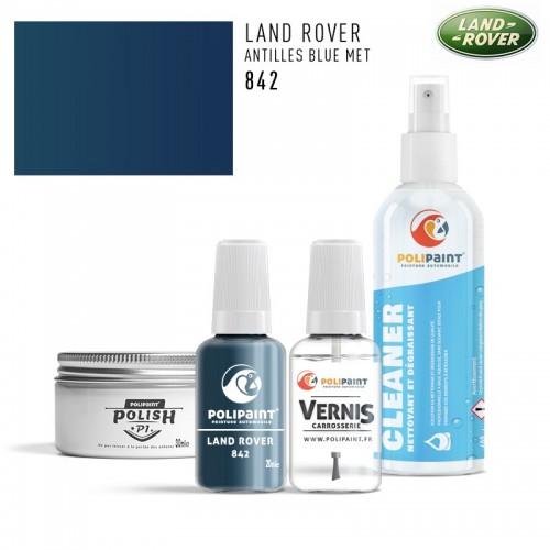 Stylo Retouche Land Rover 842 ANTILLES BLUE MET