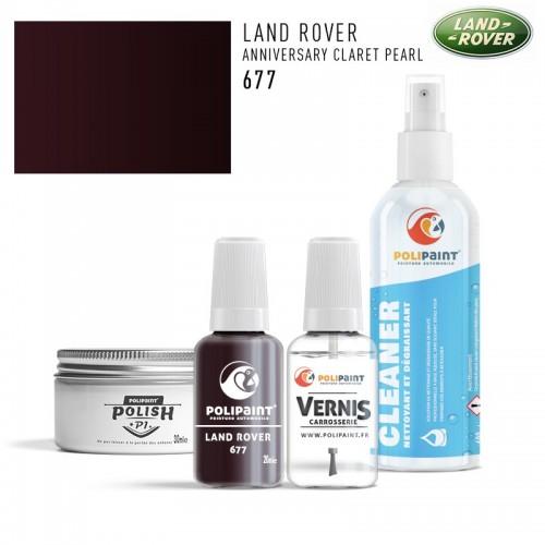 Stylo Retouche Land Rover 677 ANNIVERSARY CLARET PEARL