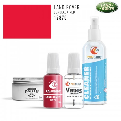 Stylo Retouche Land Rover 12870 BORDEAUX RED
