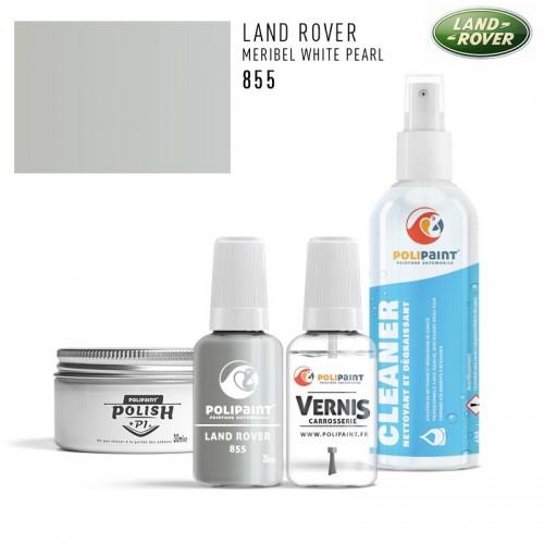 Stylo Retouche Land Rover 855 MERIBEL WHITE PEARL