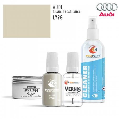 Stylo Retouche Audi LY9G BLANC CASABLANCA