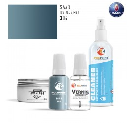 304 ICE BLUE MET Saab