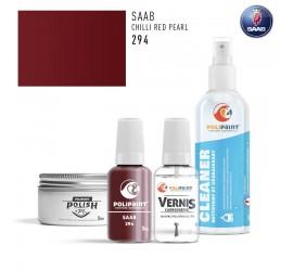 294 CHILLI RED PEARL Saab