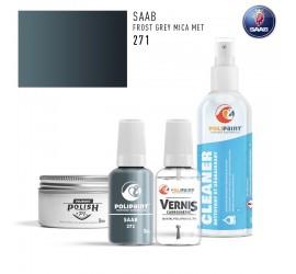 271 FROST GREY MICA MET Saab