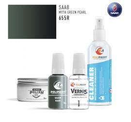 655R MYTH GREEN PEARL Saab