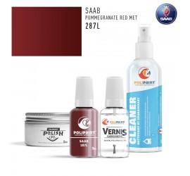 287L POMMEGRANATE RED MET Saab