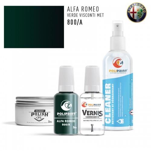 Stylo Retouche Alfa Romeo 800/A VERDE VISCONTI MET