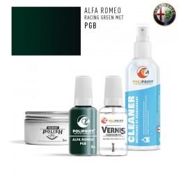 PGB RACING GREEN MET Alfa Romeo