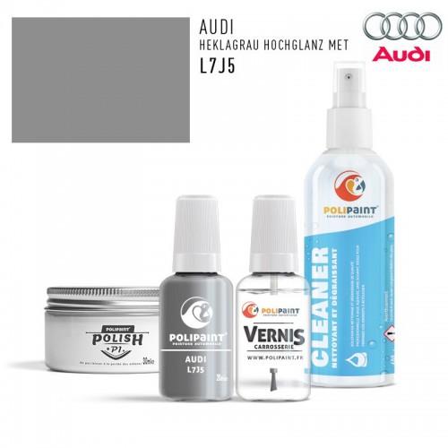 Stylo Retouche Audi L7J5 HEKLAGRAU HOCHGLANZ MET