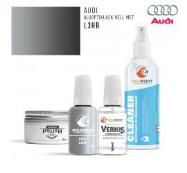 L3HB ALUOPTIKLACK HELL MET Audi