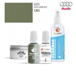 LX6L APFELGRÜN MET Audi