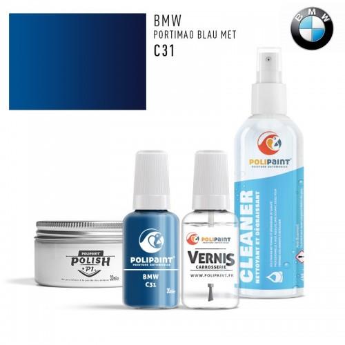 Stylo Retouche BMW C31 PORTIMAO BLAU MET