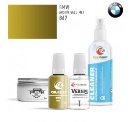 B67 AUSTIN GELB MET BMW