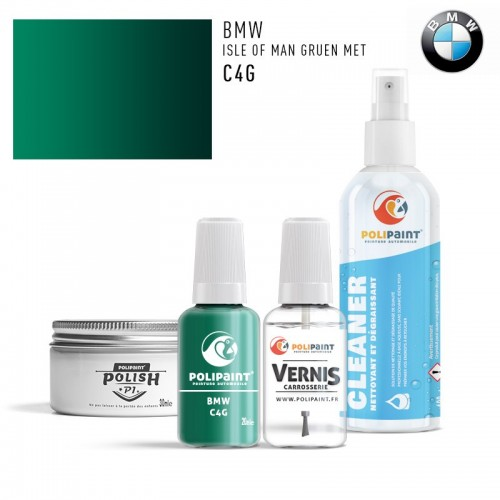 Stylo Retouche BMW C4G ISLE OF MAN GRUEN MET